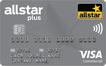 allstar plus card Visa Commercial