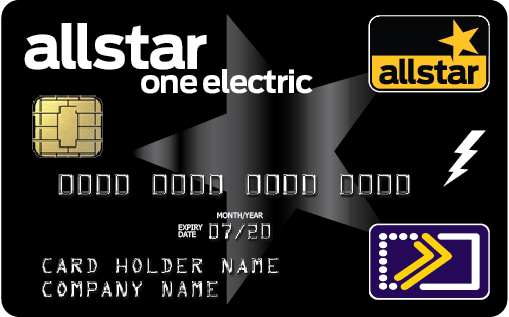 Allstar One Electric  - our combined fuel and electric charging card